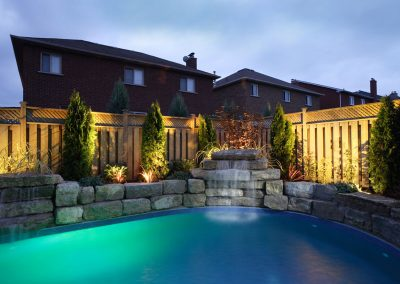 Residential Backyard Lighting