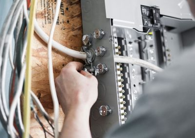 House Panel wiring